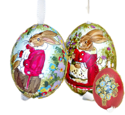 f5a86407609ce Peter Priess Hand Painted Eggs