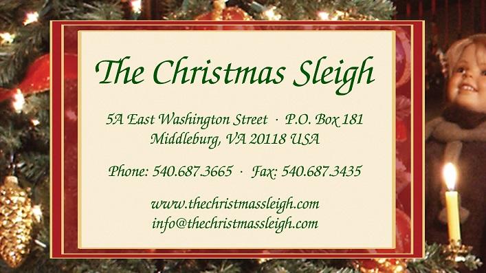 The Christmas Sleigh address